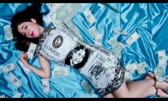 america american music dress marinaandthediamonds oh no the family jewels indie music video dollar dollar dress money