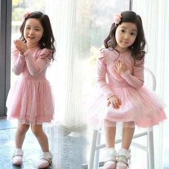 dress charming heart shape flounces tulle dress lace dress princess dress