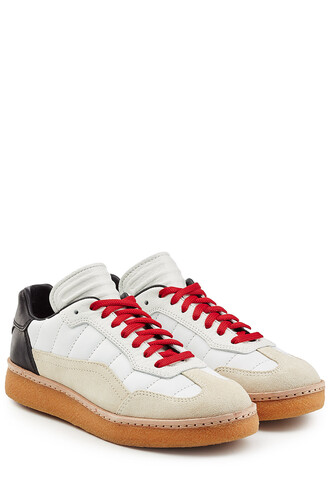 suede sneakers sneakers leather suede multicolor shoes