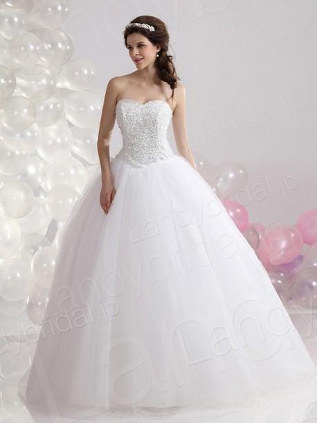 dress ウェディングドレス プリンセス ビーズ