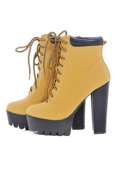 shoes high heels timberland boots shoes style trendy