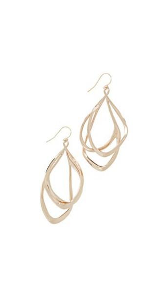 Alexis Bittar earrings gold jewels