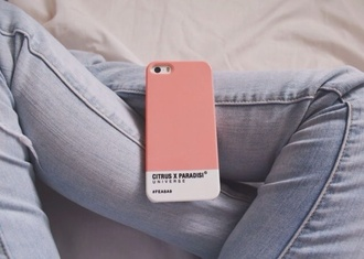 phone cover pastel pink iphone case