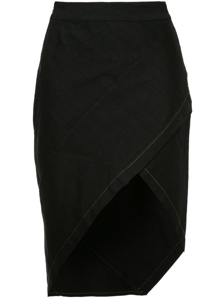 KITX skirt women spandex black