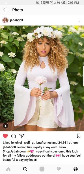 blouse light purple