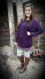 pants,tribal leggings,tribal pattern,tribal print leggings,spring outfits,summer outfits,shirt