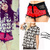 "Becky G: ""Amore"" Print Tee, Bandana Shorts 