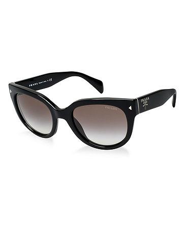 Prada Sunglasses, PR 17OS - Sunglass Hut - Macy's