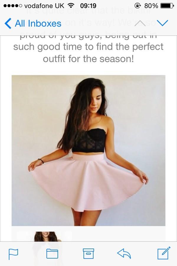 tank top black crop tops crop tops lace top t-shirt bralette skirt