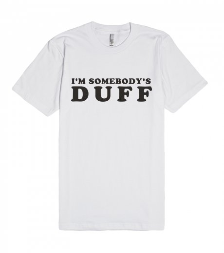 Kylie Jenner - I'm Somebody's Duff | Fitted T-shirt | SKREENED