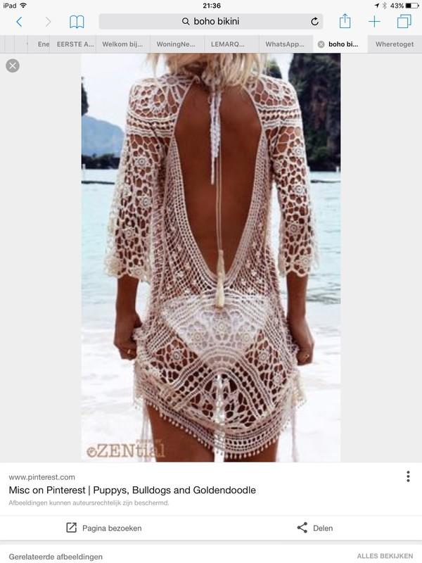 dress off-white ecru