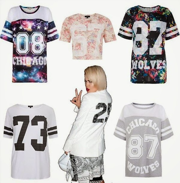 t-shirt rita ora pants hat floral galaxy print number tee