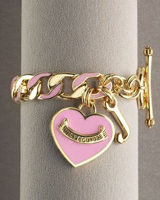 jewels heart bracelet juicy couture