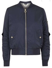 jacket,navy,dark blue,bomber jacket