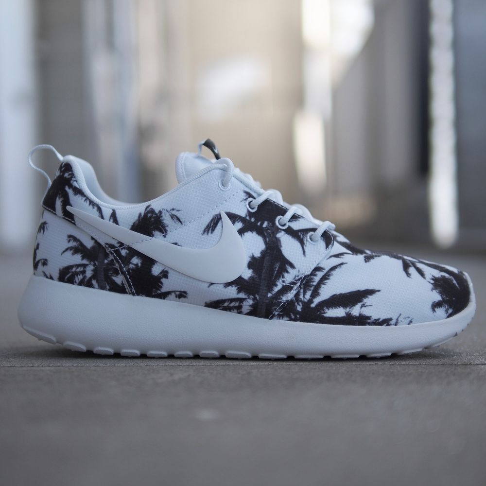 nike wmns roshe run palm trees ebay buying