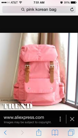 bag pink pink bag cute cute pink bag backpack