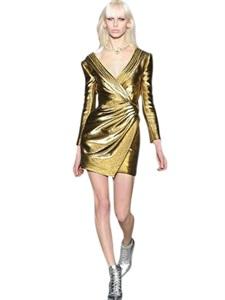 DRESSES - SAINT LAURENT -  LUISAVIAROMA.COM - WOMEN'S CLOTHING - SPRING SUMMER 2014