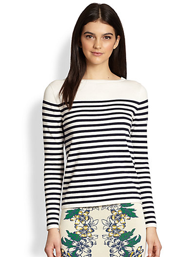 BCBGMAXAZRIA - Kayann Striped Sweater - Saks.com