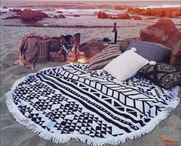 jeans blankets pillow tribal pattern home decor