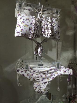 swimwear floral flowers bikini