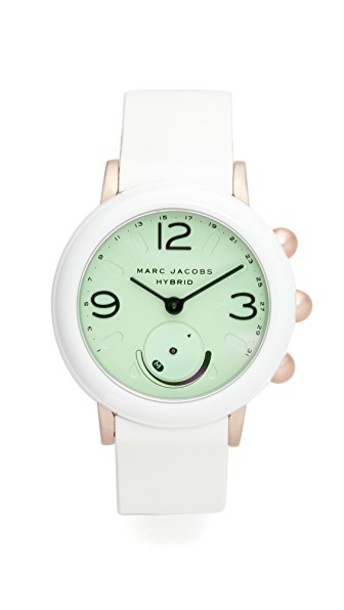 Marc Jacobs watch rose white jewels