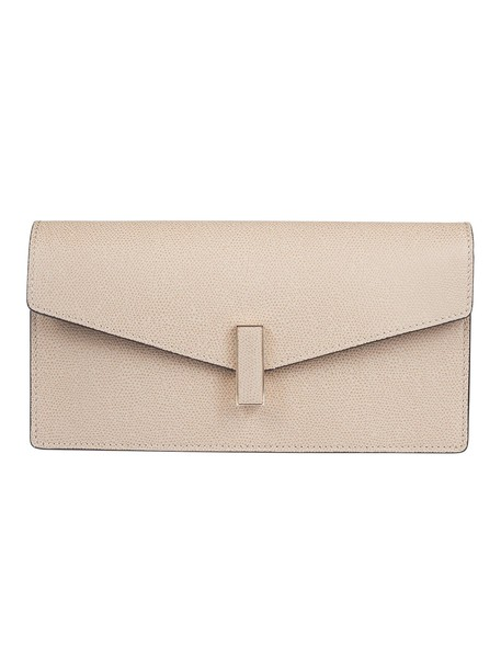 Valextra clutch gold bag