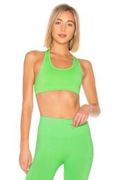 bra,sports bra,green,underwear