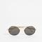 Linda farrow luxe round bar sunglasses