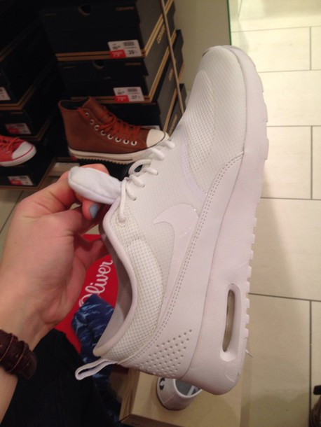 shoes nike shoes white sneakers air max