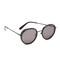 Wonderland montclair sunglasses - black gloss/grey