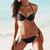 Twisted Solid Black Bikini – Dream Closet Couture