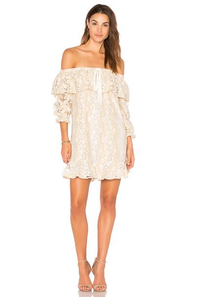 Endless Rose dress lace dress lace beige