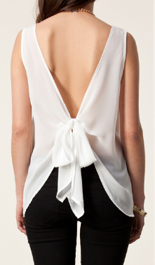 Neck blouse