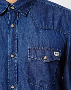 Jack & Jones | Jack & Jones Office Denim Shirt at ASOS