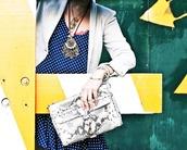 glamourai,clutch,white bag,bag