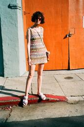 by chill,blogger,dress,shoes,sunglasses,bag,mini dress,sandals,spring outfits