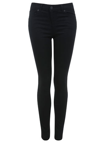 Black Ultra Soft Jean - Super Skinny Jeans  - Jeans & Denim  - Miss Selfridge