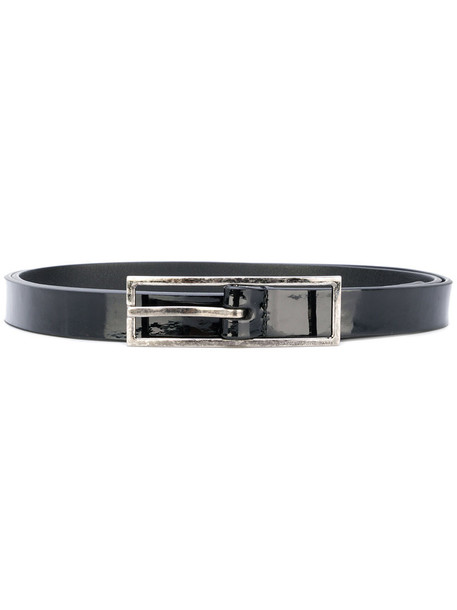 Saint Laurent women belt leather black