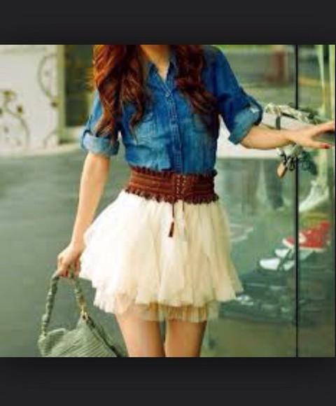 jacket denim jacket denim t-shirt shirt skirt fashion cute girly style blue shorts instagram