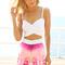 Sabo skirt  link top - white - $32.00