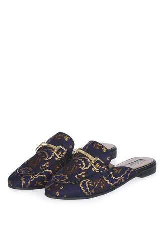 shoes jacquard loafers mules