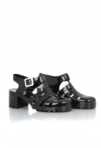 Bettie Jelly Glitter Heeled Sandals