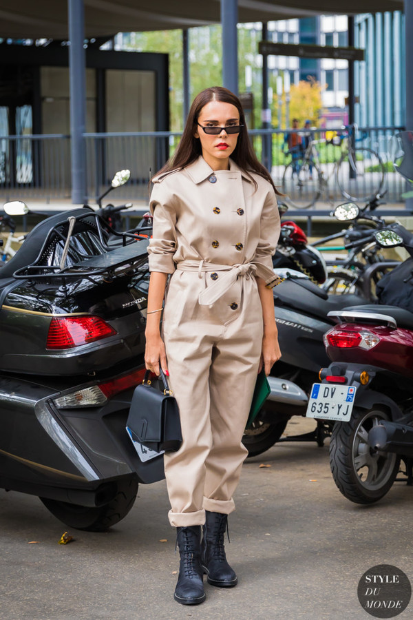 shoes jumpsuit beige jumpsuit sunglasses bag boots black boots