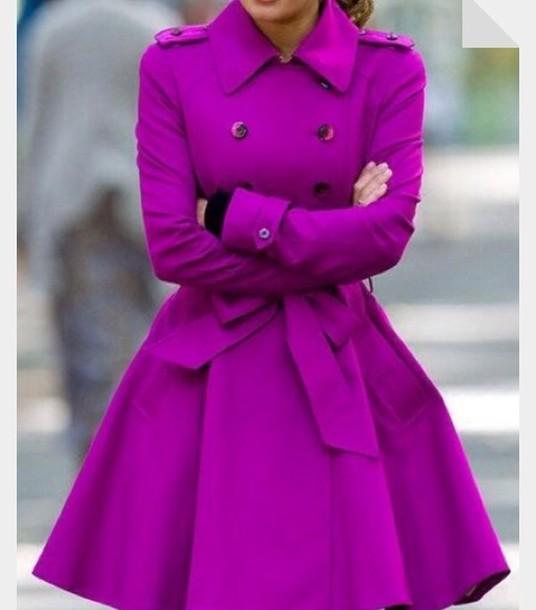 jacket purple classy