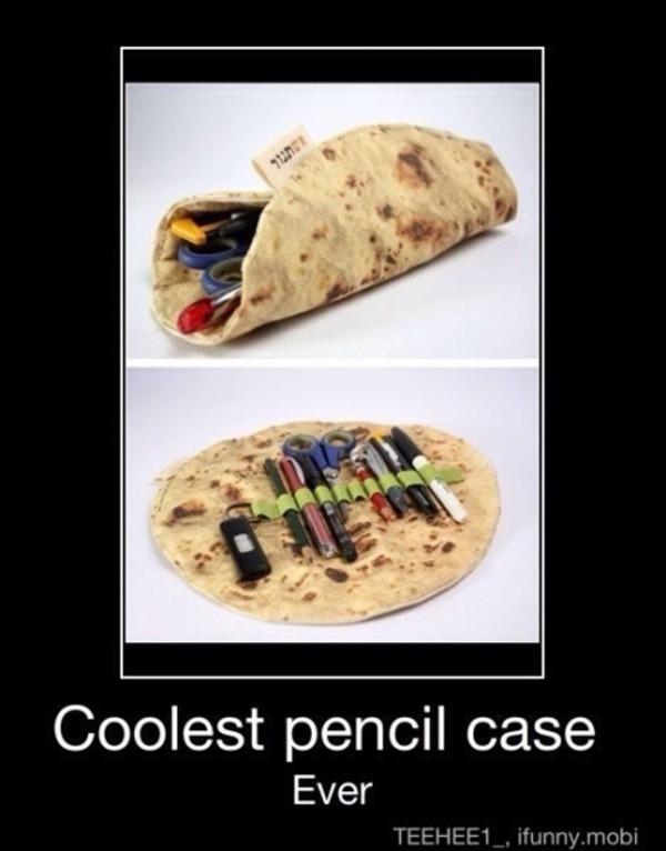 bag pancake pencil case