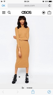 dress,asos,fall outfits,winter outfits,brown dress,60s style,70s style,marzia,long dress,long sleeves,long,caqui,turtleneck,need ,please help me find it,dupe,fall colors,brown,cold weather outfit,cold,vintage,retro,cozy,cozy and warm,long sleeve dress,midi dress,nude,nude dress,bodycon,bodycon dress,midi,party dress,sexy party dresses,sexy,sexy dress,party outfits,sexy outfit,summer dress,spring dress,spring outfits,fall dress,winter dress,classy dress,elegant dress,cocktail dress,cute dress,girly dress,date outfit,birthday dress,clubwear,club dress,graduation dress,homecoming,homecoming dress,wedding clothes,wedding guest,engagement party dress,romantic dress,romantic summer dress