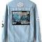 Blue lapel vintage ripped boyfriend trends jean swish denim coat -shein(sheinside)