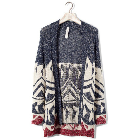 cardigan knit tribal pattern pattern Tribal Beautiful Lovely Cute Where to get Want love it