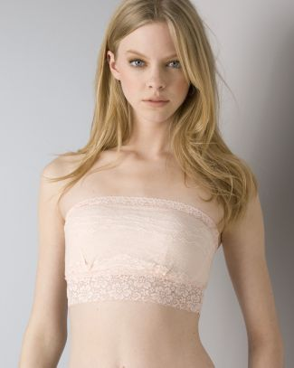 Free People Bandeau - Stretch Lace #F715O220A | Bloomingdale's