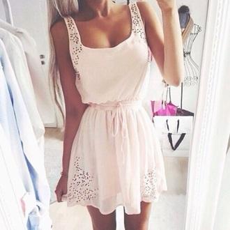 dress dess pink